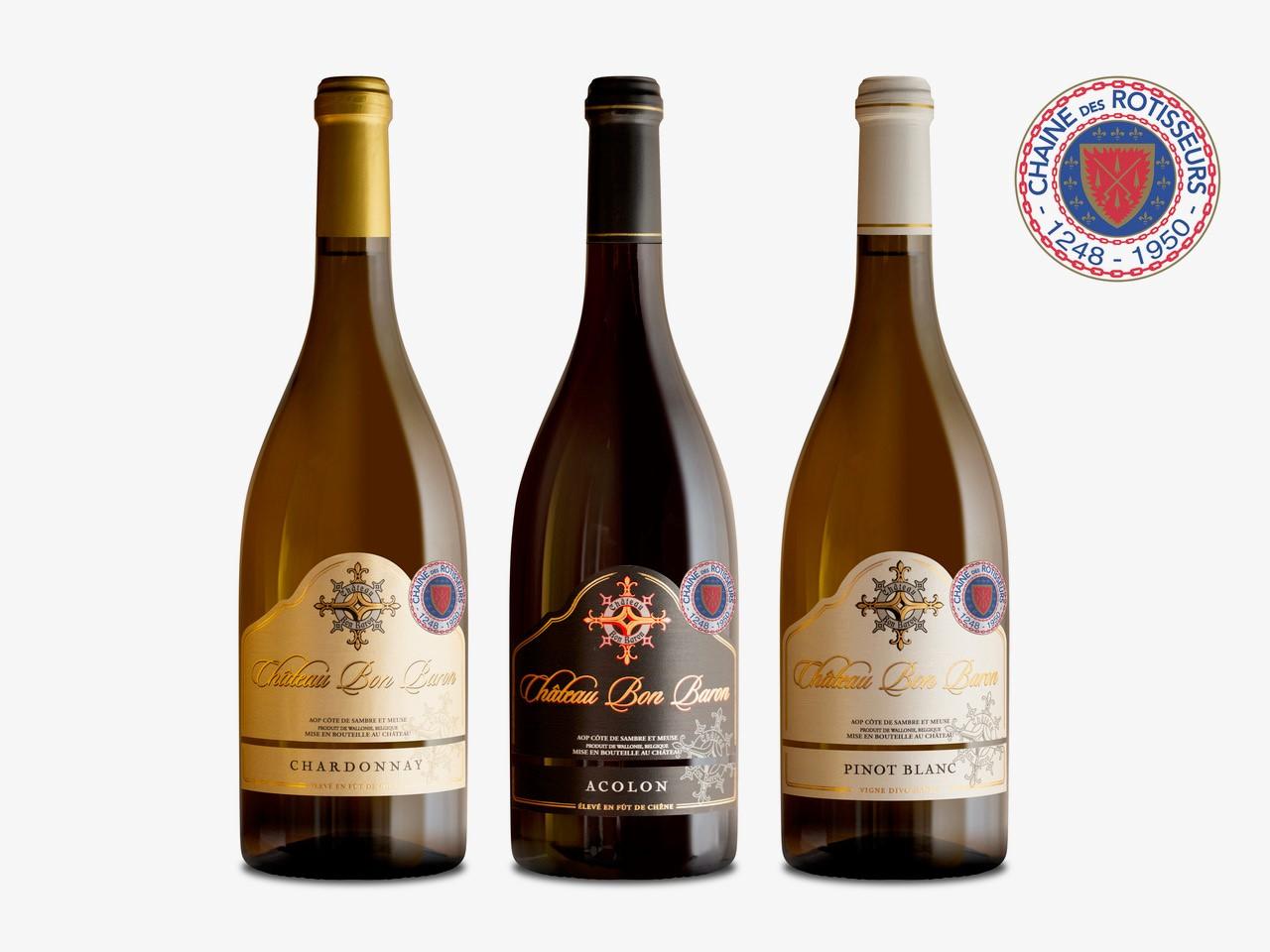 Chaîne des Rotisseurs (3) Wijnpakket
